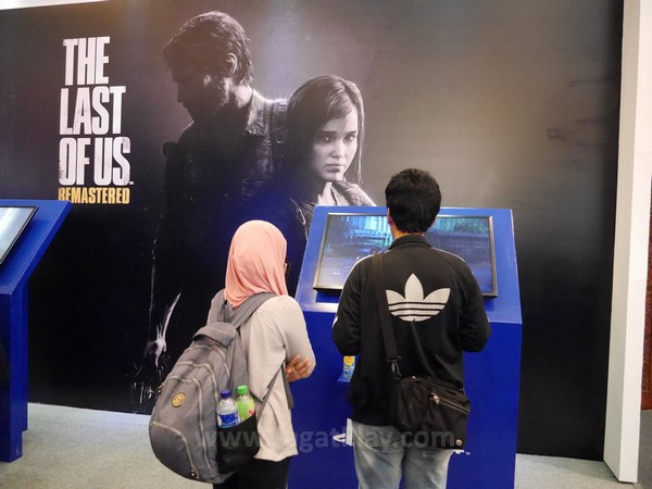 Booth The Last of Us Remastered
