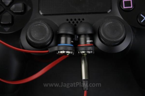 Dengan konektor jack 3.5mm yang ia usung, CM Storm Resonar juga bisa diandalkan di platform gaming selain PC, seperti Nintendo Wii U dan Playstation 4 yang sudah menyertakan port  3.5mm di kontroler mereka.