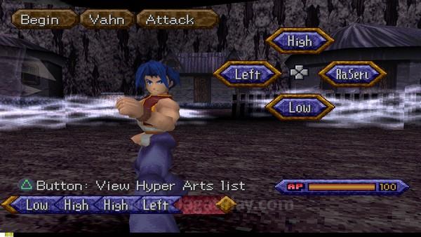 Sistem pertarungan dengan mengkombinasikan input perintah ala game fighting? Salah satu JRPG terunik!