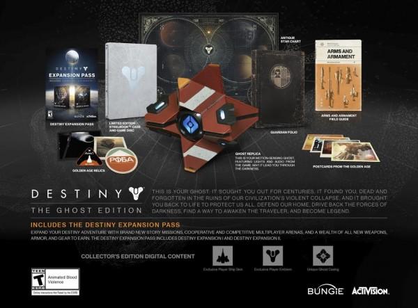 Kelangkaan membuat harga bundle menarik - Destiny Ghost Edition melonjak. Salah satu user NeoGaf bahkan berhasil menjualnya dengan harga sekitar USD 12 juta, berkali-kali lipat dari harga aslinya.