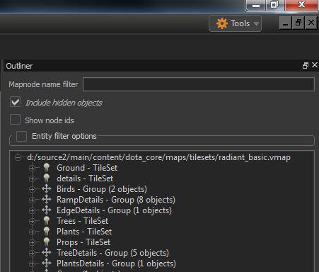 Hammer - program mod DOTA 2 memperlihatkan beberapa nama file yang mengindikasikan kehadiran Source 2 di sana.