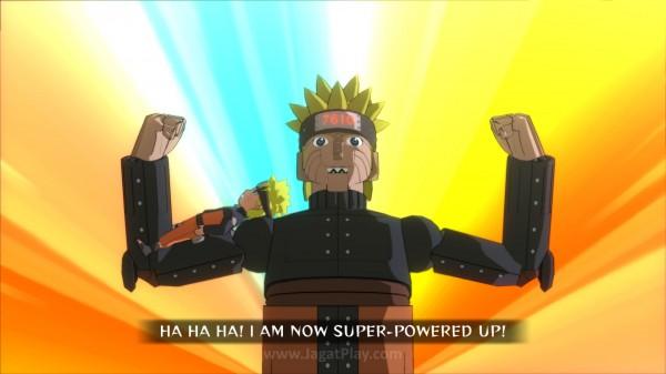 Selain Ninja World Tournament, satu mode cerita ekstra juga dirilis untuk memperkuat latar belakang karakter baru - Mecha Naruto yang unik.