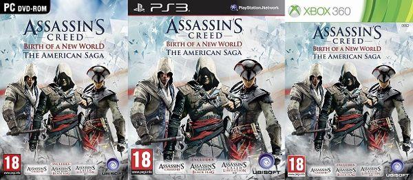 Untuk memberikan gambaran yang lebih jelas untuk gamer yang menantikan kehadiran AC Rogue, Ubisoft merilis satu seri kompilasi bernama AC: Birth of a New World untuk PS 3x, Xbox 360, dan PC.