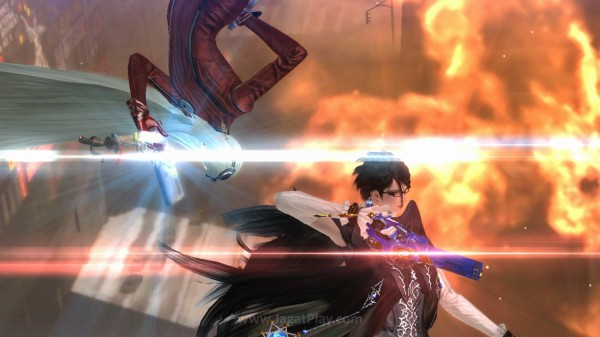 Secara visual, Bayonetta 2 boleh dibilang tidak istimewa, bahkan cenderung