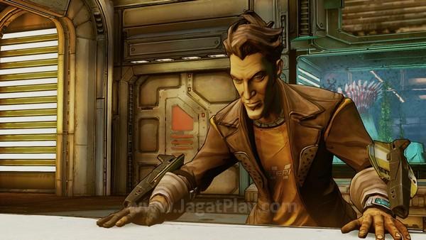Fokusnya adalah memahami latar belakang cerita, mengapa Jack bisa menjadi karakter yang banyak dipuja gamer di Borderlands 2.