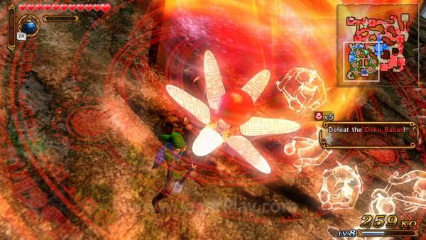 Anda juga bisa mengakses serangan spesial yang akan menghancurkan area lebih besar dengan damage lebih tinggi.