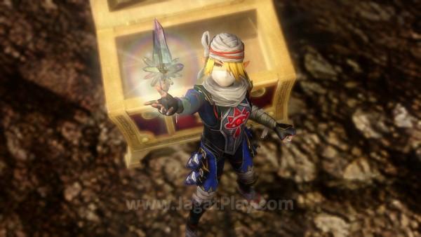 Ada kepuasan tersendiri menemukan senjata kuat untuk karakter-karakter yang ada, yang muncul secara acak.