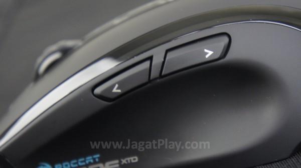 Jumlah tombol seperti layaknya mouse gaming saat ini, posisi yang proporsional membuatnya bisa diakses tanpa rasa canggung.