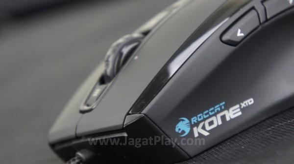 Secara garis besar, desain yang ditawarkan Roccat Kone XTD serupa dengan seri Kone original.