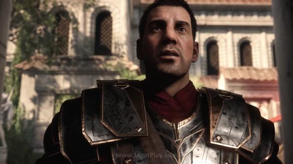 Anda akan berperan sebagai seorang prajurit Roma yang gagah berani - Marius Titus.