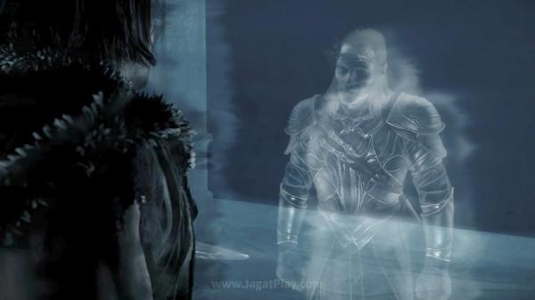 Namun alih-alih memasuki raga The Black Hand of Sauran, Celebrimbor justru terjebak di tubuh Talion dan menyelamatkannya dari kematian.