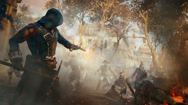 Ubisoft menyebut bahwa game 60fps mulai ditinggalkan oleh para developer. Pendekatan 30fps dipilih karena menghasilkan efek sinematik lebih baik dan memungkinkan developer untuk menyuntikkan beragam elemen lain yang lebih optimal.