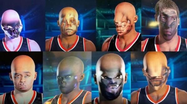 Alih-alih berjalan seperti yang terlihat di trailer, fitur Face Capture NBA 2K15 justru berujung bencana.