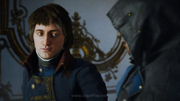 Aksi Anda juga akan melibatkan beberapa karakter historis ikonik seperti Napoleon Bonaparte ini misalnya.