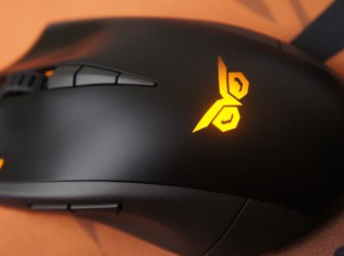 Asus Strix Claw with mousepad speed and control 71