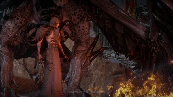 Namun pilar hijau ini ternyata hanyalah awal dari tragedi yang lebih memilukan. Masa damai Thedas menemukan ancaman baru dari sebuah makhluk misterius bernama - Corypheus dengan naga hitamnya yang menyeramkan.