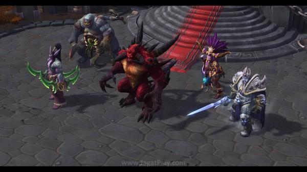 Anda akan bertemu dengan karakter-karakter familiar dari Starcraft, Warcraft, dan Diablo di dalamnya.