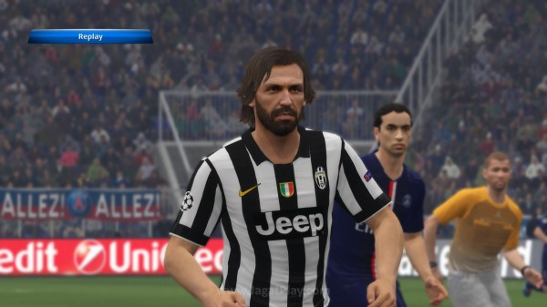 Chuck Norris, i mean, Andrea Pirlo (PS4)
