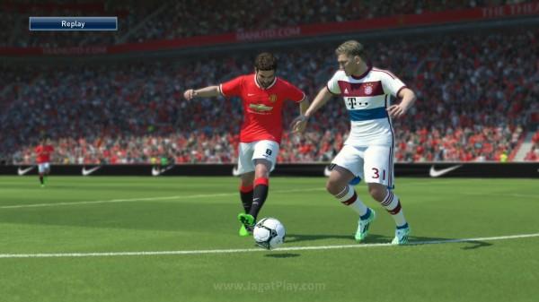 Gerakan pemain terbilang mulus dan nampak realistis
