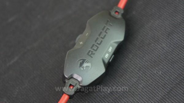 Sebuah audio control juga disematkan untuk membantu Anda mengatur volume secara langsung.