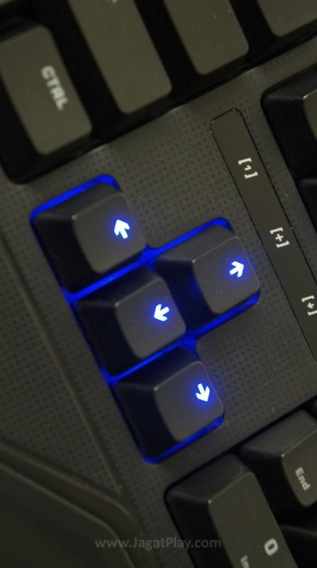 Fitur anti-ghosting akan memastikan keyboard ini mampu mentranslasikan kombinasi gerakan jari Anda, secepat dan sekompleks apapun dengan kans kesalahan yang sangat minim.