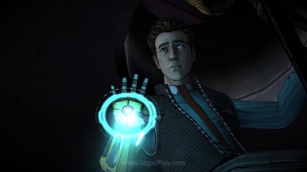 Anda akan berperan sebagai Rhys - seorang pegawai Hyperion yang dijanjikan kenaikan pangkat, namun dicurangi dan berniat balas dendam.