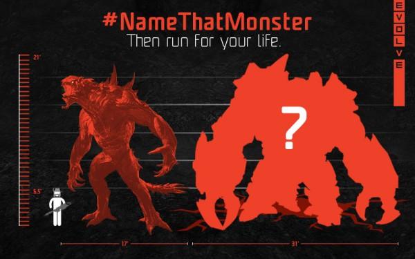Evolve meminta gamer untuk menamai monster keempat mereka yang ukurannya lebih besar daripada Goliath.