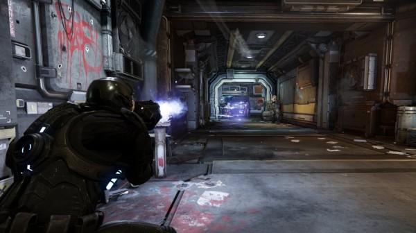 Ambisius. Setelah memperlihatkan mode pertempuran luar angkasa dan eksplorasi planet, Star Citiizen juga memperlihatkan mode FPS yang ada.