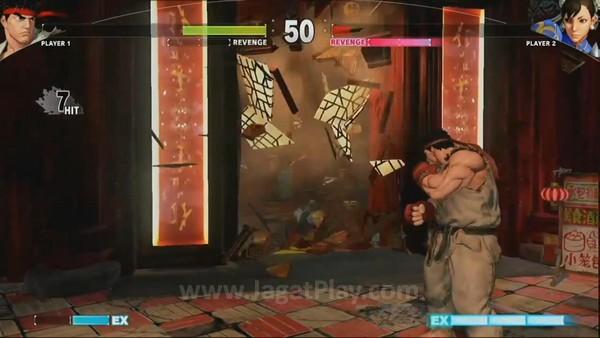 Serangan di ujung stage bisa membuka area baru.