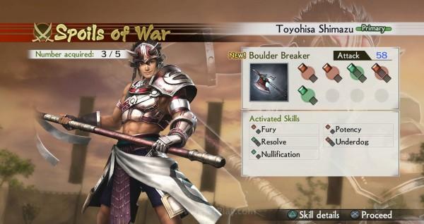 Senjata baru berisi skill acak yang mampu meningkatkan kemampuan Anda.
