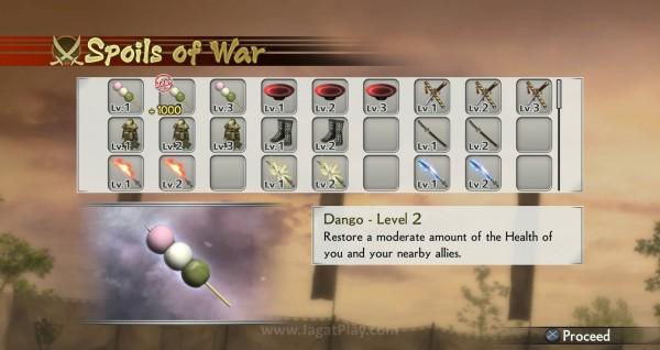 Beragam benda dapat Anda gunakan untuk membantu pertempuran.
