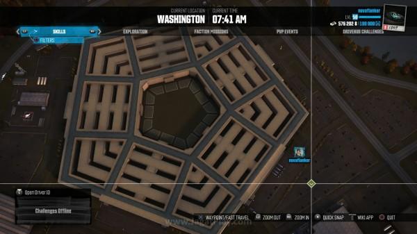 Bangunan ikonik di Amerika dapat Anda lihat dari atas menggunakan mode zoom yang cukup bagus.