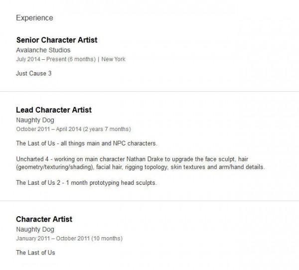 Dalam profile LinkedIn-nya, Michael Knowland - mantan Lead Artist Naughty Dog mengindikasikan proses pengembangan The Last of Us 2 yang tampaknya sudah dimulai.