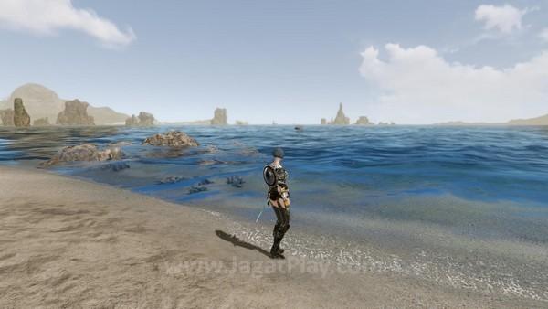 Laut di game ini benar-benar luas dan dalam.