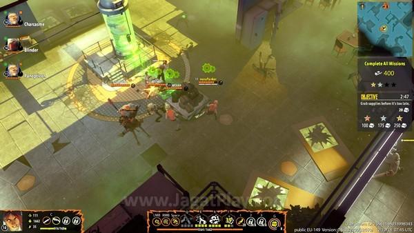 Tujuan utama Anda adalah mengumpulkan sumber daya sambil bertahan hidup dari zombie dan pemain lain.