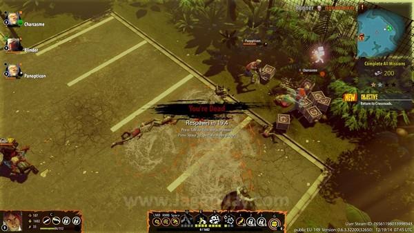 Ketika Hero Anda kalah, teman satu tim dapat menghidupkan kembali dengan menahan tombol X atau respawn di titik terdekat.
