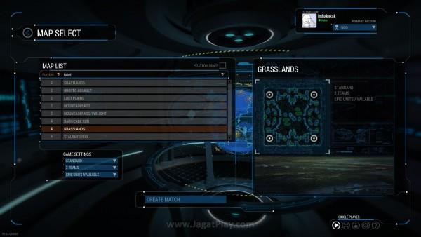 Semua mode standar game RTS masuk di sini, termasuk Skirmish yang begitu efektif untuk menghabiskan waktu. Sayangnya, jumlah mapnya sendiri terhitung sangat terbatas.