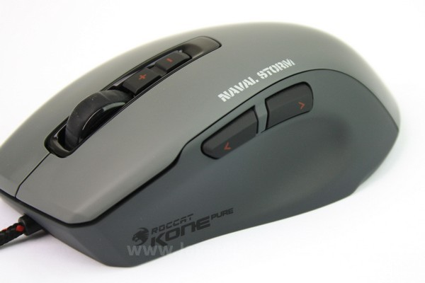Lekukan lembut mouse ini berlawanan dengan sudut tajam yang kerap dianut mouse gaming masa kini.