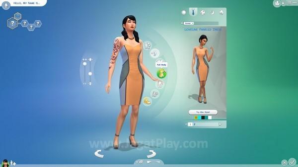 Sims bisa memilih paket baju yang akan digunakan setiap harinya dalam beragam kesempatan berbeda.