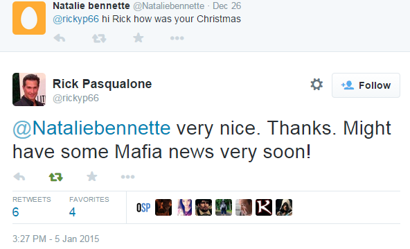 Voice actor di balik karakter mensinyalkan informasi terkait Mafia 3 dalam waktu dekat.