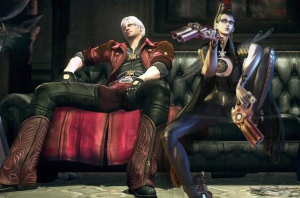 Rey Jimenez - producer Capcom mengungkapkan ketertarikannya untuk melebur Dante dan Bayonetta di game yang sama.
