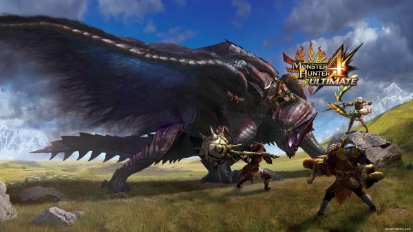 Capcom berhasil menjual lebih dari 3 juta kopi Monster Hunter 4 Ultimate di seluruh dunia hanya dalam waktu beberapa hari saja.