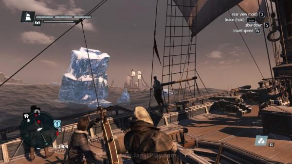 Bongkahan es dapat menjadi senjata mematikan untuk kapal kecil