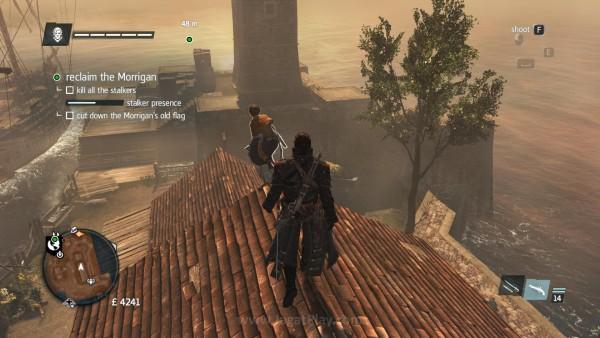 Terkadang ada Assassin pemula yang bisa disergap dari belakang