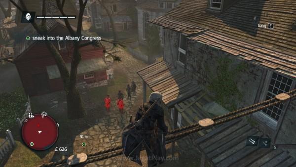 Mengintai musuh dan menyerangnya di saat yang tepat adalah gaya bertarung Assassin sejati