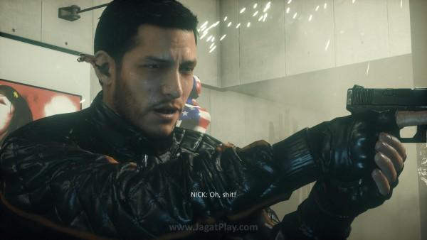 Anda berperan sebagai Nick Mendoza - seorang polisi bersih yang menjadi target konspirasi.