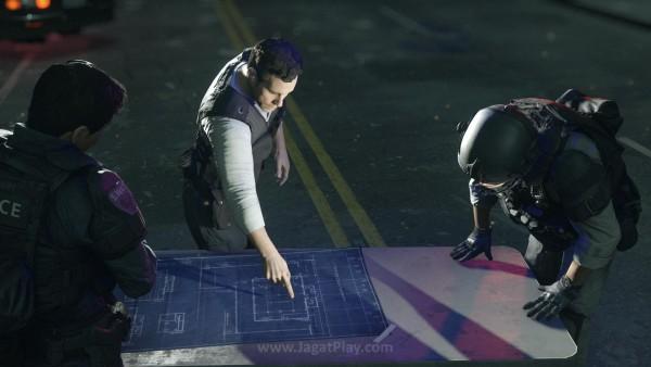 Berbeda dengan seri Battlefield pada umumnya, Hardline menjadikan pertempuran antara polisi - kriminal sebagai tema utama.