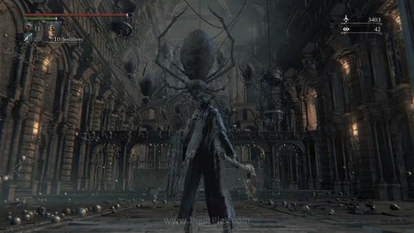 From Software berhasil membangun atmosfer yang fantastis untuk Bloodborne.