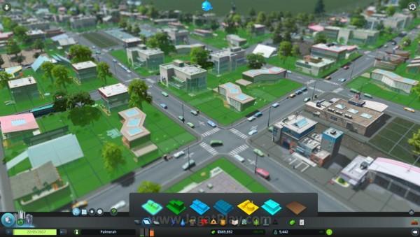 Kota berkembang tergantung zona dan infrastruktur yang Anda bangun