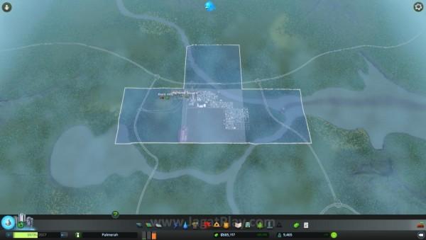 Semakin padat kota, daerah baru untuk dibangun akan terbuka
